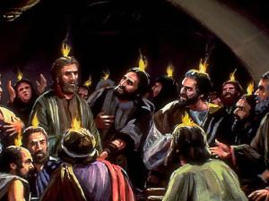 Disiplene får den Hellige ånd