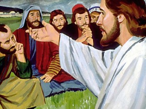 jesus underviser