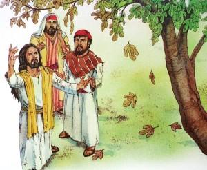 Jesus forbanner fikentreet