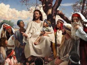 Jesus med barna-filtered