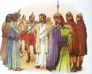 Jesus moter motstand