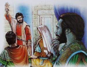 Paulus vitner som fange
