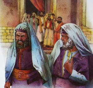 Sadukeerne sinte paa Jesus