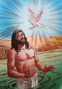 Dopte Jesus og duen