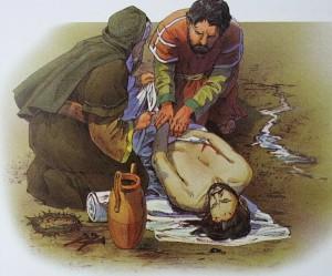 Jesu dode legeme salves