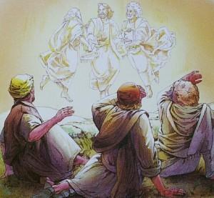 Jesus, Moses og Elias