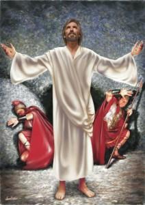 Jesus oppstaar