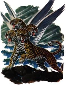 Leoparden ble brukt som et symbol på Hellas