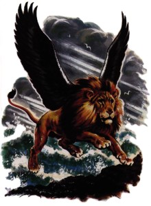 Løven symboliserte Babylon